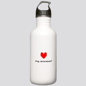 Stay Determined - Blk Stainless Water Bottle 1.0L