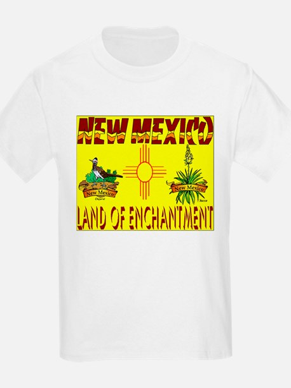 New Mexico USA Kids T-Shirt