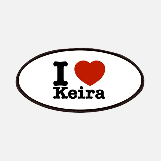 I Love Keira Patches
