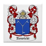 Nowicki Coat of Arms Tile Coaster