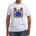 Nowicki Coat of Arms Fitted T-Shirt