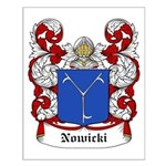 Nowicki Coat of Arms Small Poster