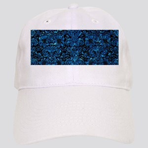 DAMASK2 BLACK MARBLE & DEEP BLUE WATER Cap