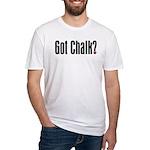 Got Chalk? Fitted T-Shirt