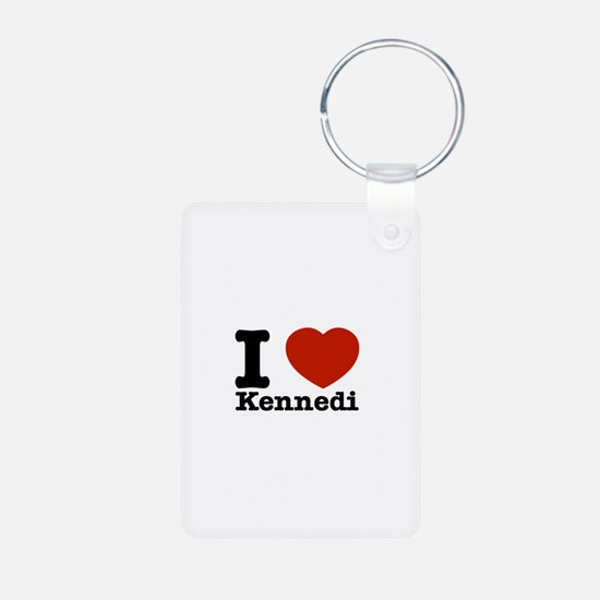 I Love Kennedi Keychains