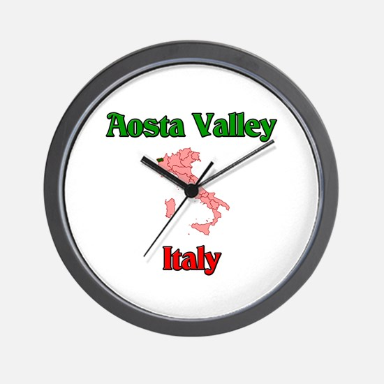Aosta Valley Wall Clock
