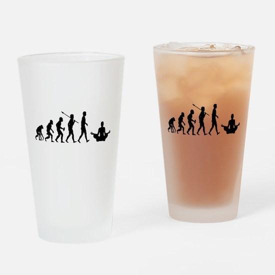 Meditation Drinking Glass