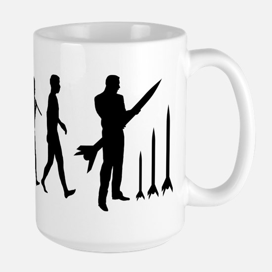 Model Rockets Lover Large Mug