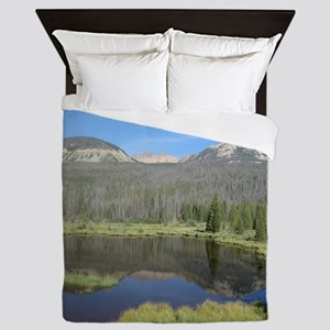 Beaver Pond (A) Queen Duvet