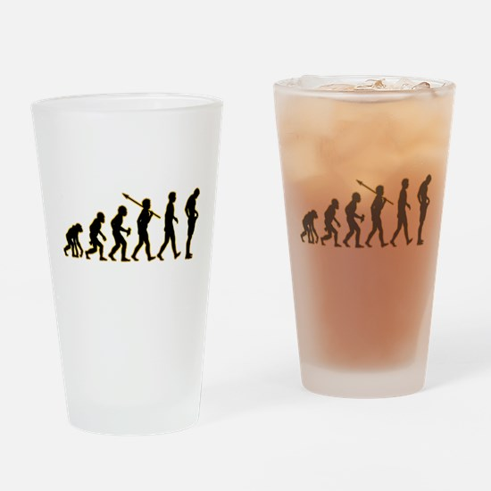 Manhood Check Drinking Glass