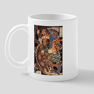 Miyamoto Musashi Fights Nue Mug