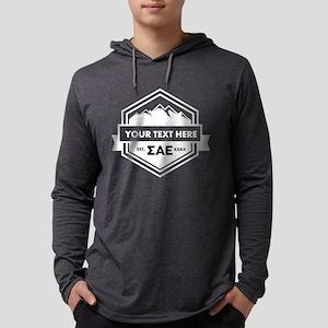 Sigma Alpha Epsilon Mountain Rib Mens Hooded Shirt