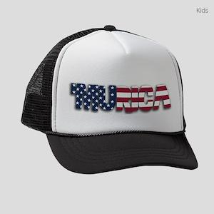 'Murica Kids Trucker hat