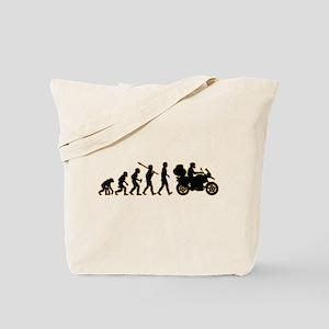 Motorcycle Traveller Tote Bag