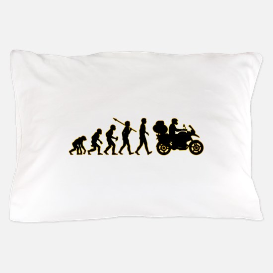 Motorcycle Traveller Pillow Case