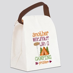Another Wine Drinker With A Camping Problem Canvas