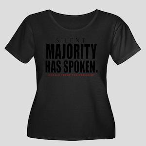 Silent Majority Has Spoken Donald Trump Plus Size