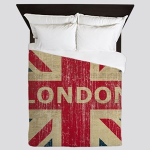 Vintage London Queen Duvet