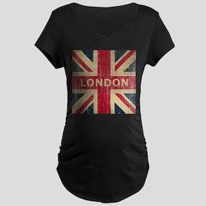 Vintage London Maternity Dark T-Shirt