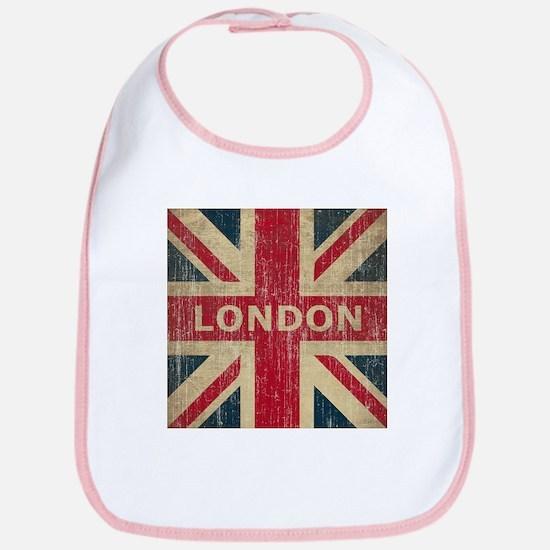 Vintage London Bib