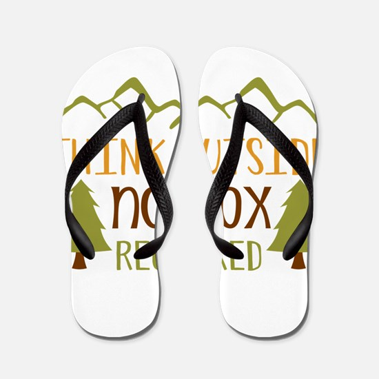 Think Outside No Box Required Flip Flops