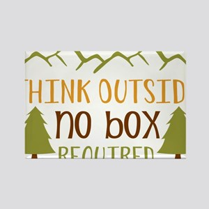 Think Outside No Box Required Magnets