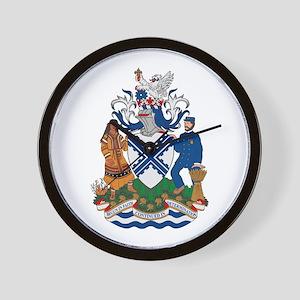 Truro Coat of Arms Wall Clock