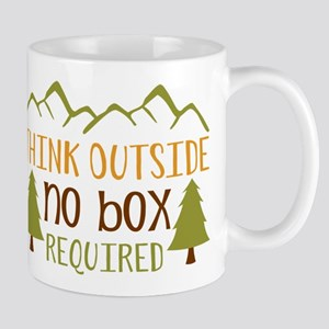 Think Outside No Box Required Mugs