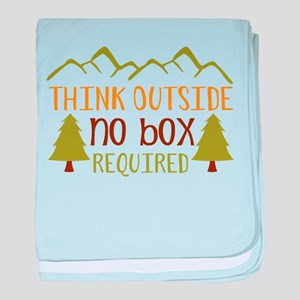 Think Outside No Box Required baby blanket