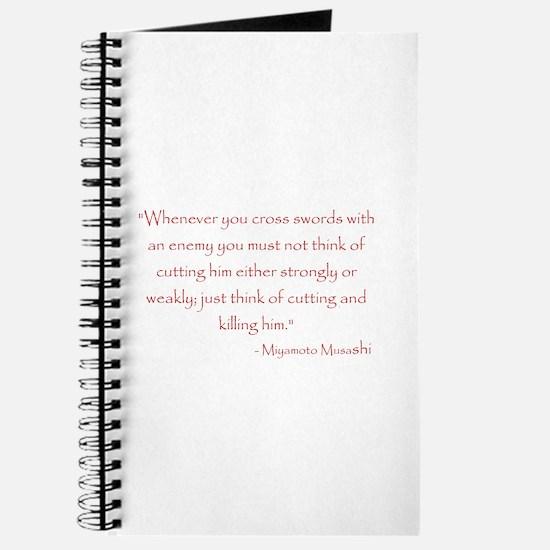 Miyamoto Musashi Quote Journal