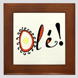 Ole, Framed Tile