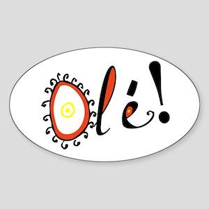 Ole, Oval Sticker