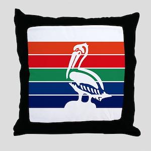 St. Petersburgh Flag Throw Pillow