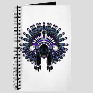 Native War Bonnet 04 Journal