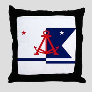 Alameda Flag Throw Pillow