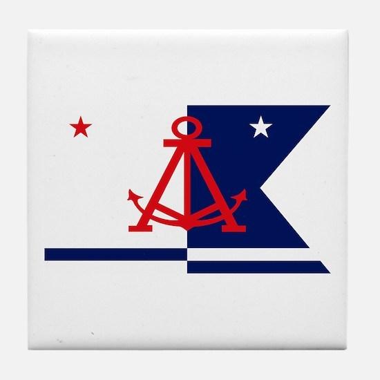 Alameda Flag Tile Coaster