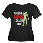 Run like zombie is chasing you Women's Plus Size S