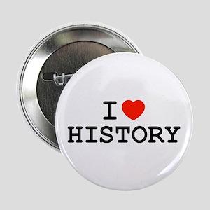 I Heart History Button