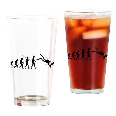 Scuba Diving Drinking Glass