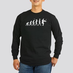 Silly Walks Long Sleeve Dark T-Shirt