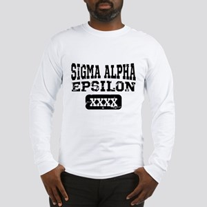 Sigma Alpha Epsilon Athletic P Long Sleeve T-Shirt