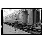 Russian Train Conductor Poster