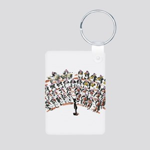 Orchestra Aluminum Photo Keychain