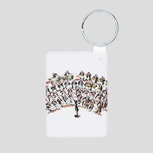 Orchestra Aluminum Photo Keychain