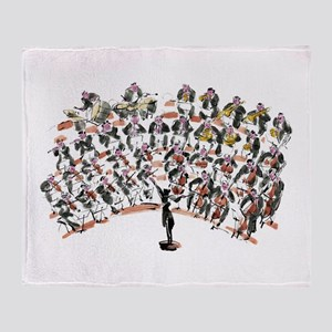 Orchestra Throw Blanket