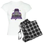Trucker Sophia Women's Light Pajamas