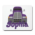 Trucker Sophia Mousepad