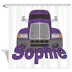 Trucker Sophie Shower Curtain