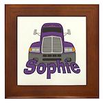 Trucker Sophie Framed Tile