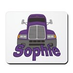 Trucker Sophie Mousepad
